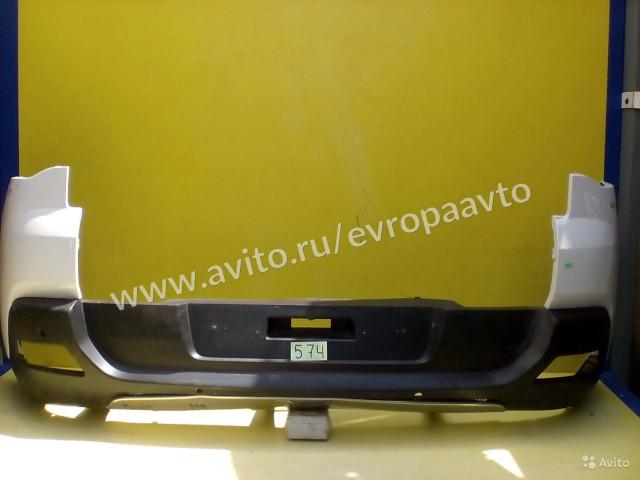 Peugeot 3008 Бампер задний в сборе с лопухами