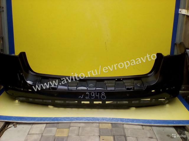 Mercedes ML W166 Бампер задний