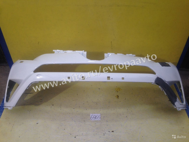 Toyota RAV4 Рестайлинг Бампер передний