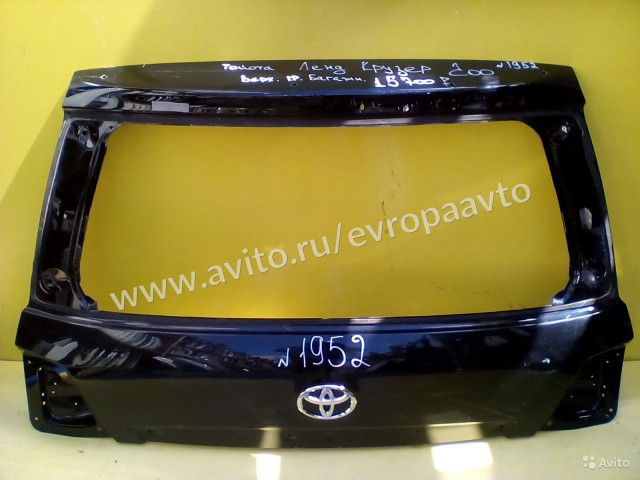 Toyota Land Cruser 200 Дверь багажника