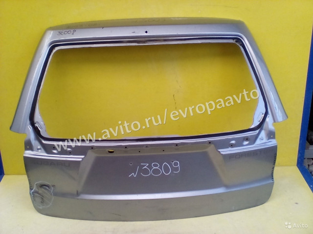 Subaru Forester Дверь багажника
