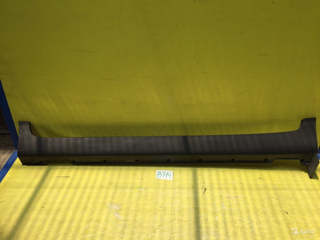 Kia Sportage Рестайлинг Накладка порога левая