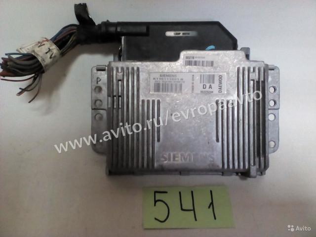 Daewoo Matiz Блок управления двигателя АКПП