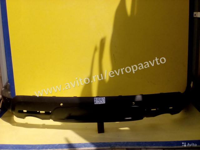 Ford Explorer 5 Губа заднего бампера