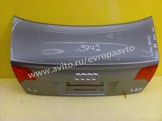 Audi A4 Крышка багажника в сборе