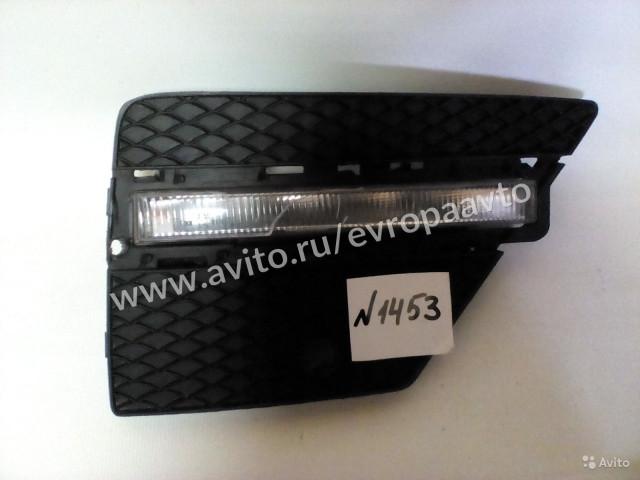 Mercedes ML W166 Накладка на бампер правая