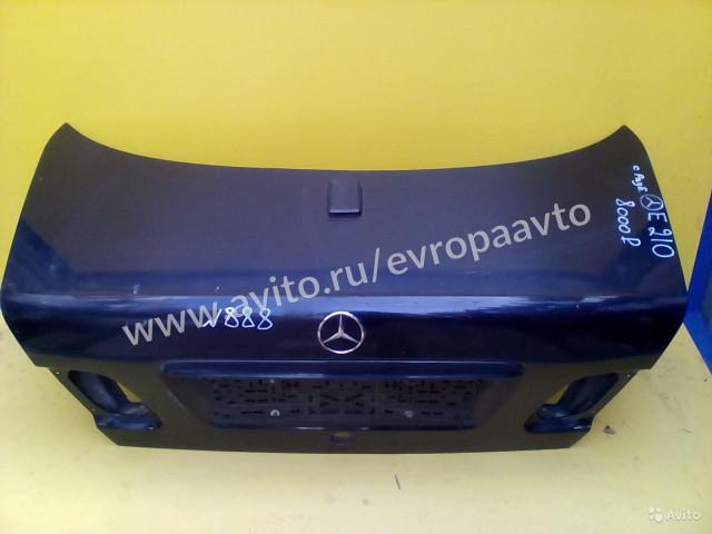 Mercedes E W210 Крышка Багажника