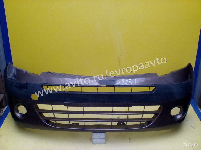 Renault Kangoo Бампер передний