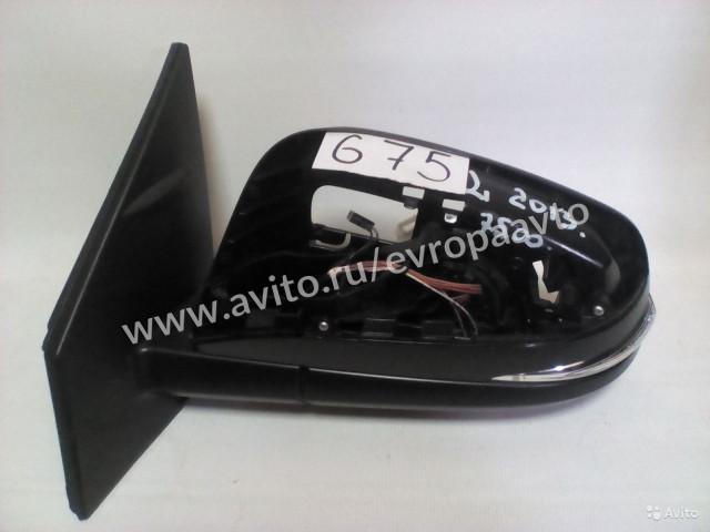 Toyota RAV4 Зеркало левое с повторителем