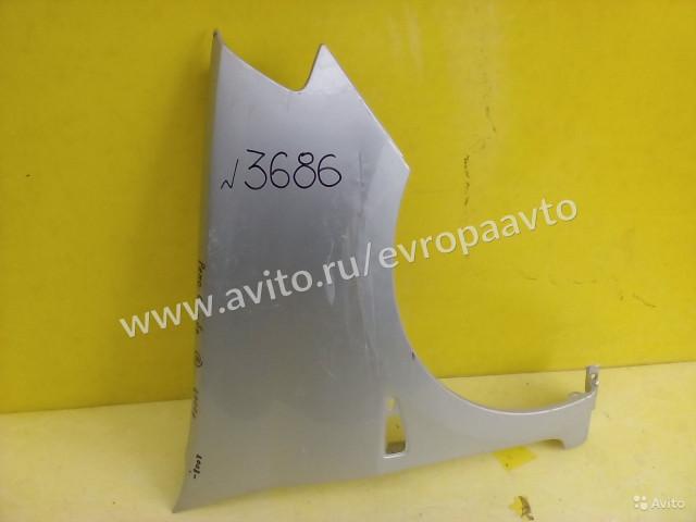 Renault Symbol Крыло правое металл