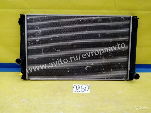 Toyota RAV4 2,0L Радиатор охлаждения МКПП
