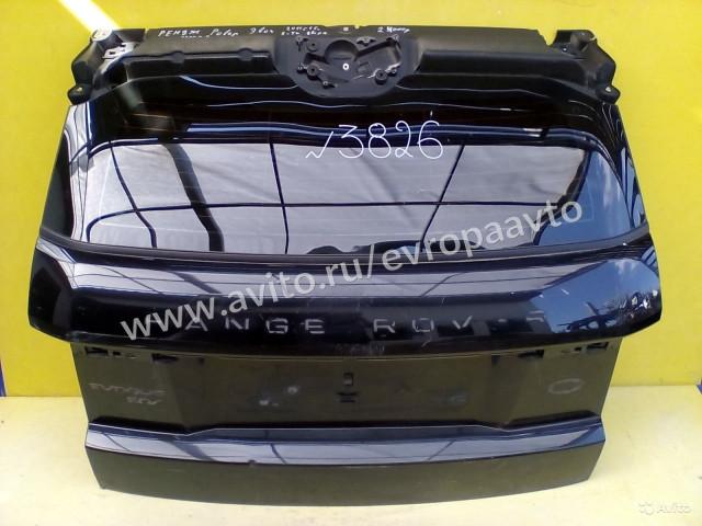 Range Rover Evogue Дверь багажника со стеклом