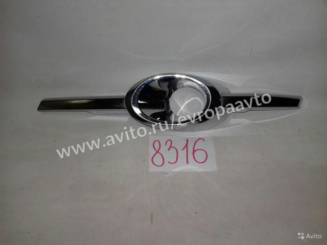 Mercedes C W204 Хром накладка птф левая