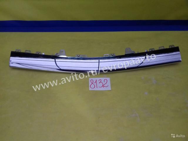 Mercedes GLE C292 Накладка переднего бампера хром