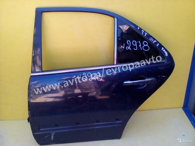 Mercedes E W210 Дверь задняя левая