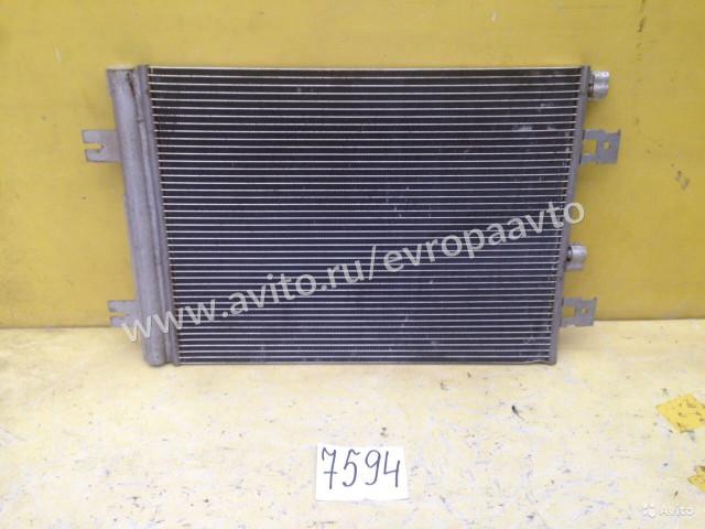 Renault Logan Duster Радиатор кондиционера