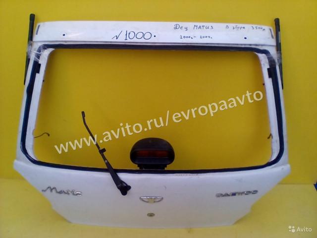 Daewoo Matiz Крышка Дверь багажника в сборе