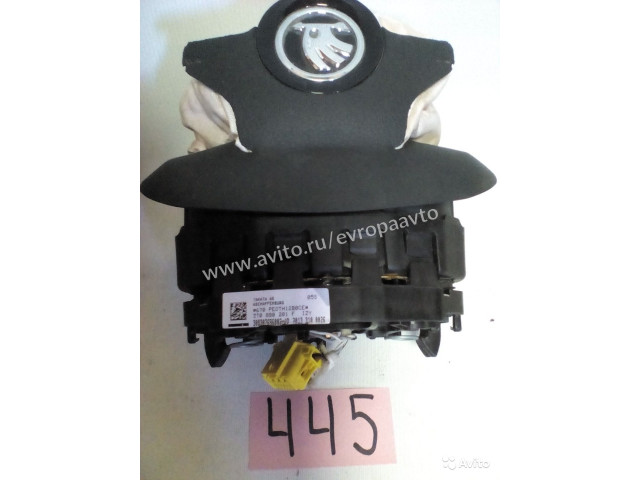 Skoda Octavia Yeti подушка безопасности в руль