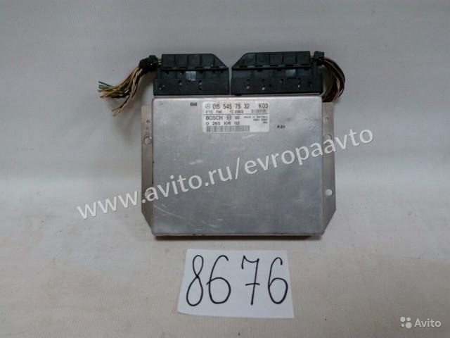 Mercedes E W210 электронный блок управления esp