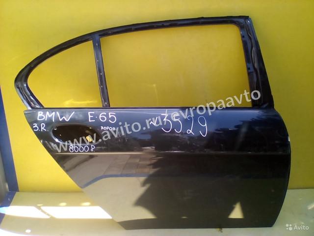 BMW 7 E65 дверь задняя правая