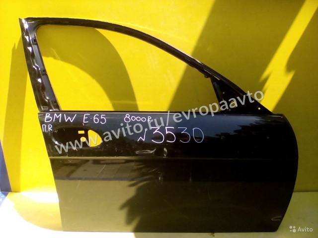 Bmw 7 E65 дверь передняя правая