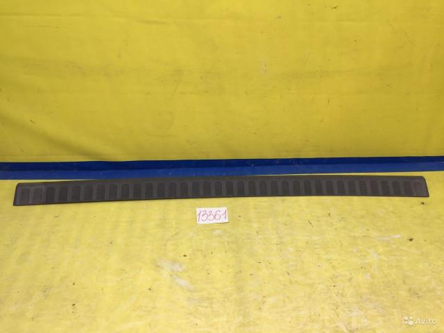 Ford Connect Накладка заднего бампера
