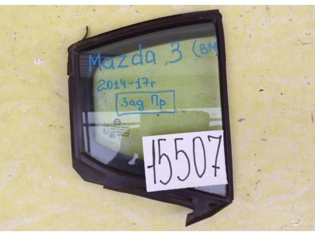 Mazda 3 BM форточка задняя левая