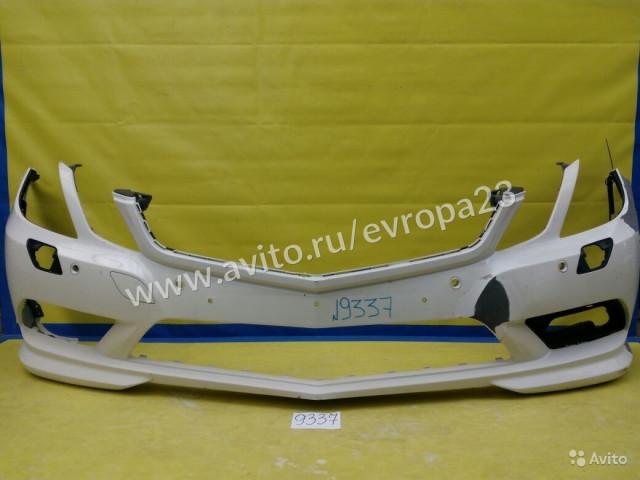 Mercedes E C207 AMG Coupe Бампер передний