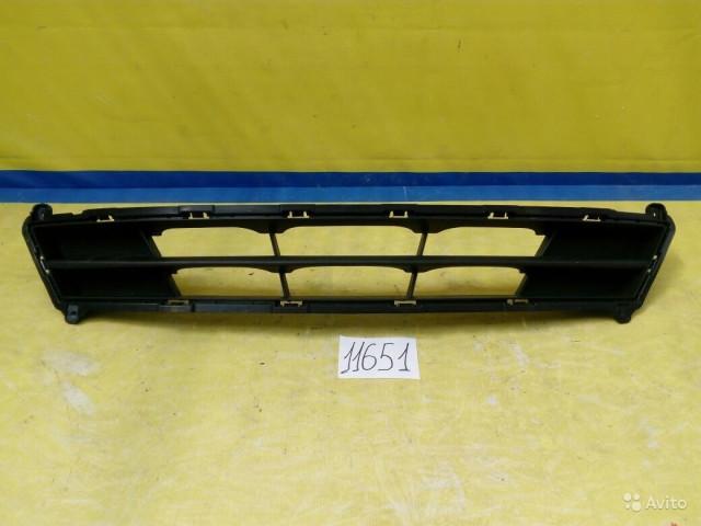 Hyundai Solaris Рестайлинг Решетка в бампер