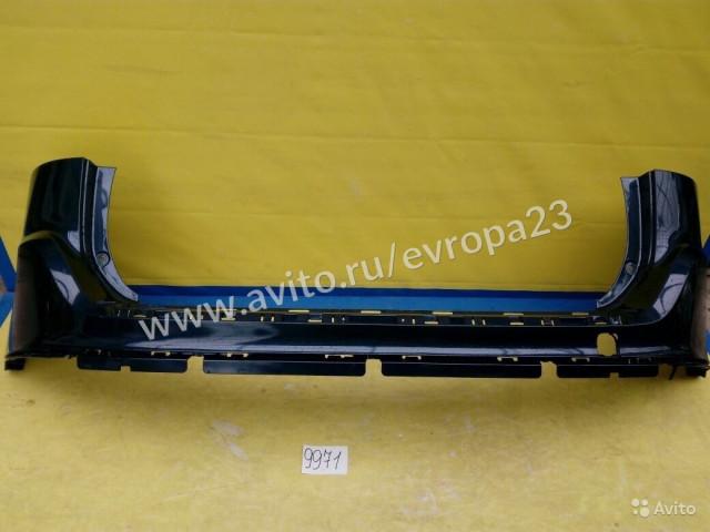 Volvo XC60 Дорестайлинг Бампер задний