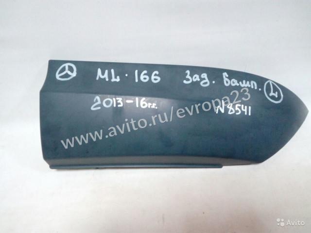 Mercedes ML W166 AMG Накладка заднего бампера