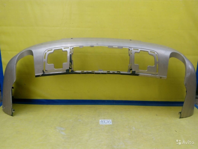 Audi Q7 Губа заднего бампера