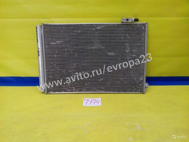 Mercedes E C212 GLK X204 Радиатор кондиционера