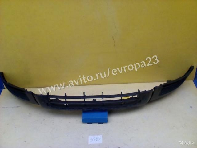 Skoda Yeti Накладка переднего бампера