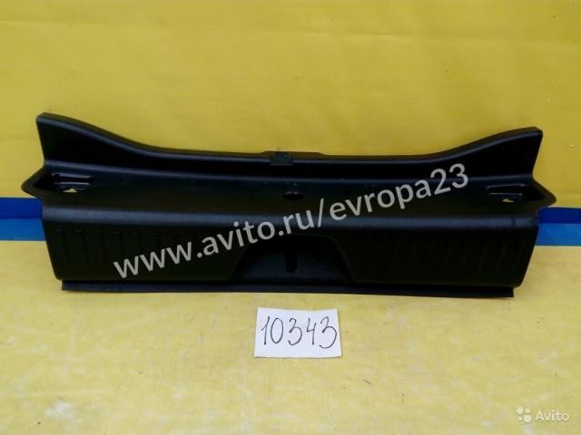 Mercedes A W176 Накладка замка багажника