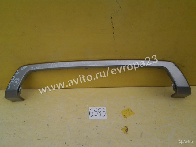 Hyundai Santa Fe Накладка переднего бампера