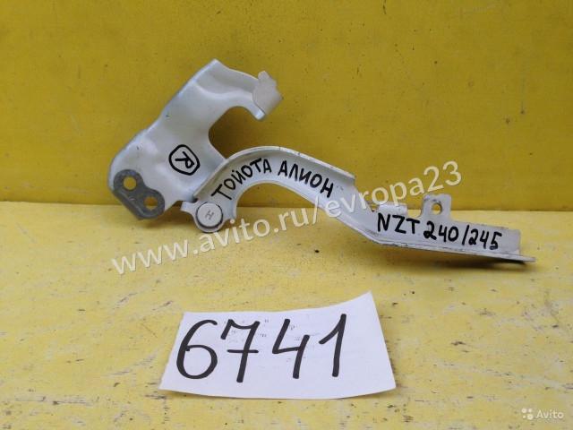 Toyota Allion NZT 240 245 Петля капота правая