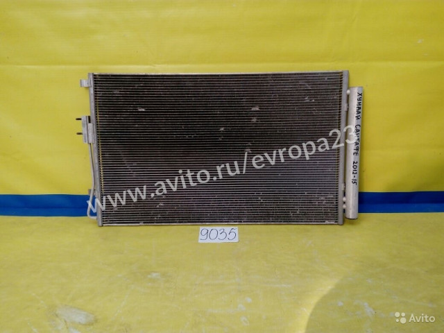 Hyundai Santa Fe Радиатор кондиционера