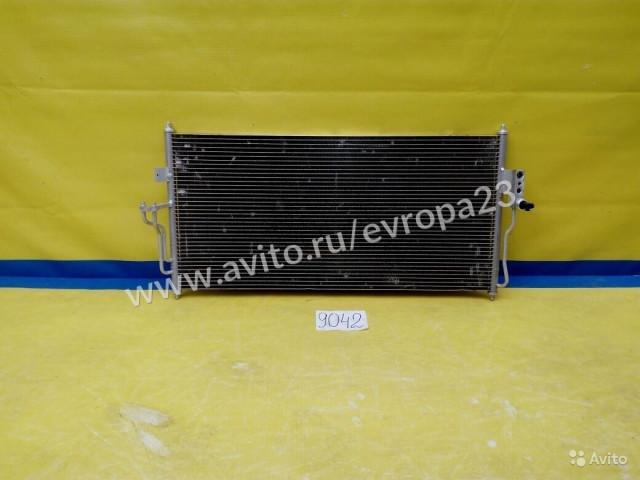 Nissan Almera Радиатор кондиционера