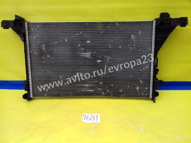Renault Master 3 Opel Movano Радиатор охлаждения