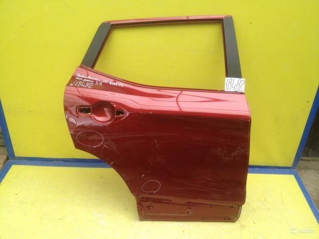 Nissan Qashqai J11 Дверь задняя правая