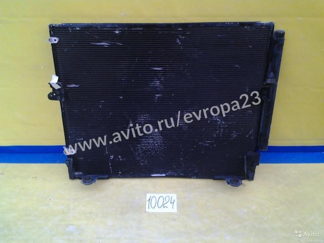Toyota Prado 120 Радиатор кондиционера