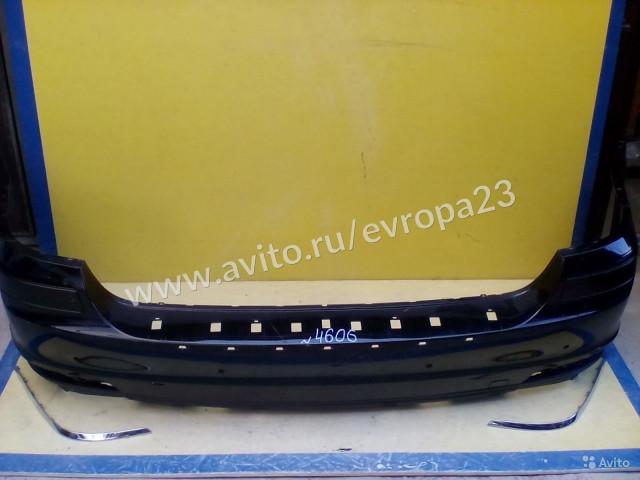 Mercedes GL X164 Рестайлинг Бампер задний обычный