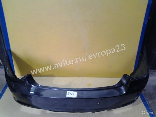 BMW 7 F01 Бампер задний под парктроник