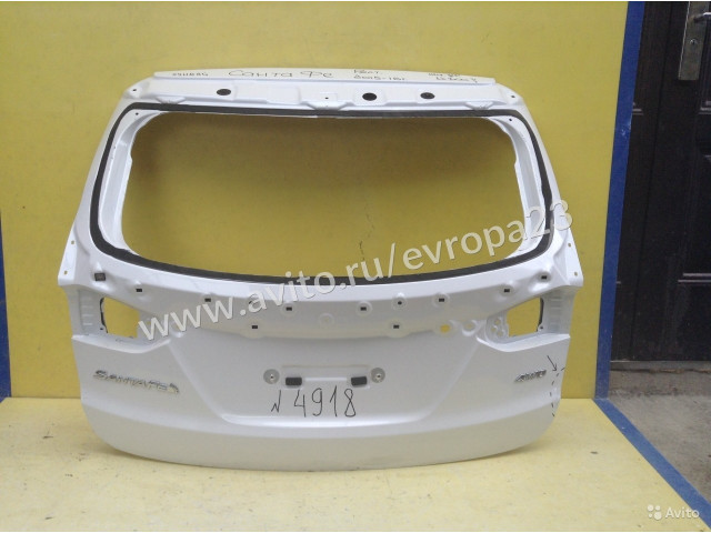Hyundai Santa Fe Дверь багажника