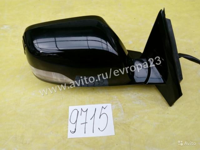 Honda CR-V 3 Зеркало правое 9 контактов