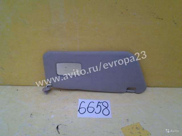 Daewoo Matiz Козырек солнцезащитный с зеркалом