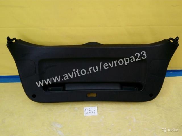 Kia Sportage Обшивка багажника