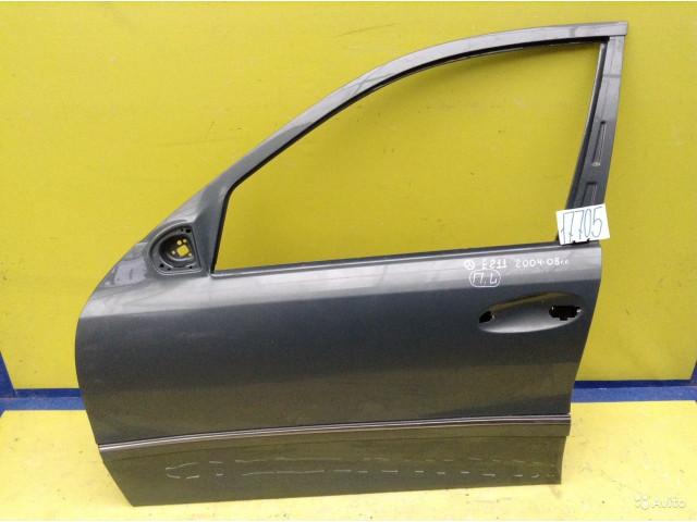 Mercedes E W211 Дверь переднее левое алюминий