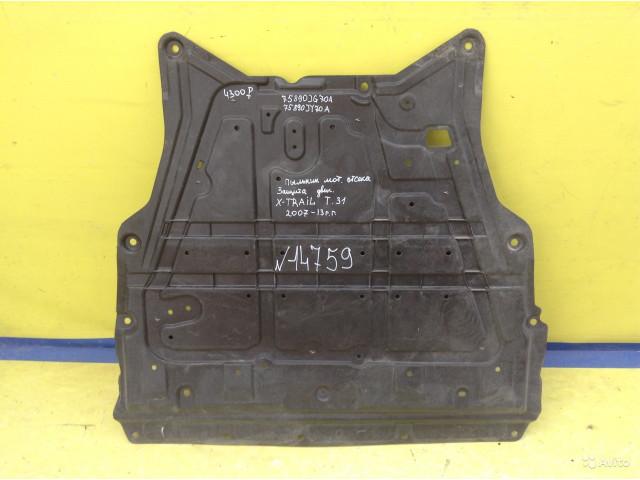 Nissan X-Trail T31 Пыльник Защита двигателя